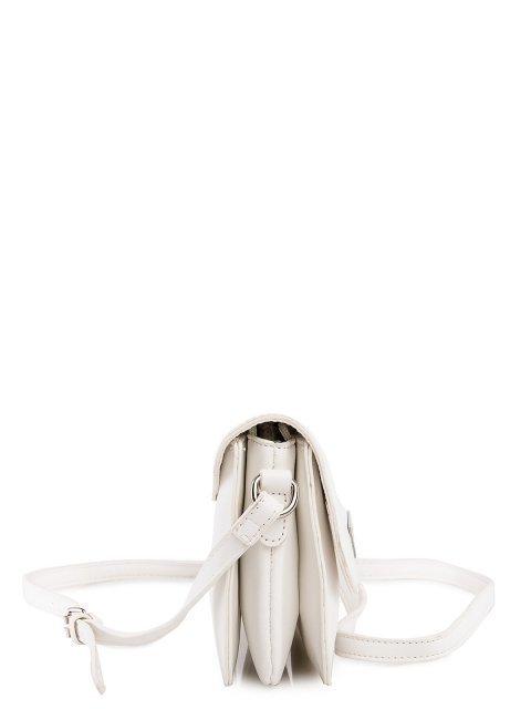 Белая сумка планшет David Jones (Дэвид Джонс) - артикул: 0К-00026149 - ракурс 2