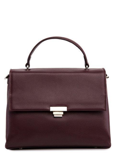 Бордовый портфель Afina - 11499.00 руб