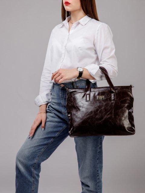 Коричневая сумка классическая S.Lavia (Славия) - артикул: 660 048 12 - ракурс 5