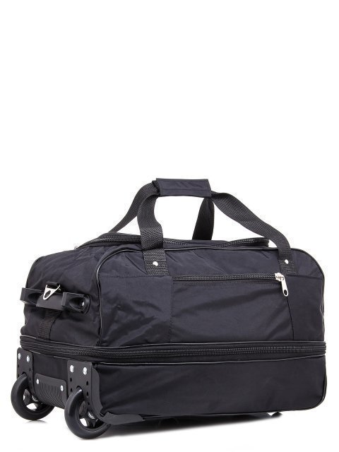 Чёрный чемодан Lbags (Эльбэгс) - артикул: К0000015902 - ракурс 1
