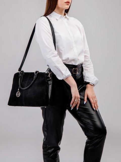 Чёрная сумка классическая S.Lavia (Славия) - артикул: 970 99 01 - ракурс 6