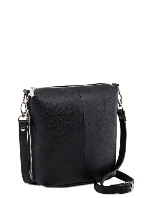 Чёрная сумка планшет S.Lavia (Славия) - артикул: 0017 12 01 - ракурс 1