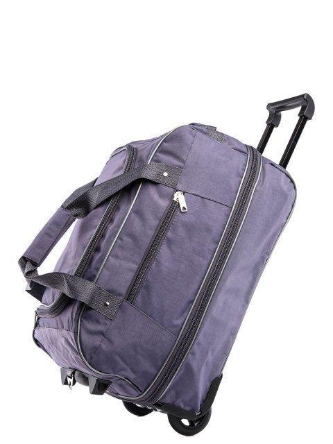 Серый чемодан Lbags (Эльбэгс) - артикул: К0000015921 - ракурс 4