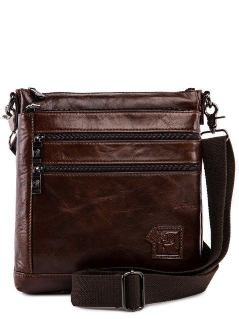 Коричневая сумка планшет Barez - 3999.00 руб