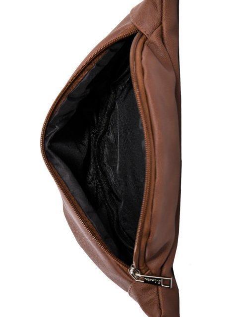Коричневая сумка на пояс S.Lavia (Славия) - артикул: 1060 815 02 - ракурс 4