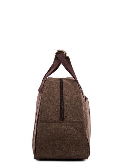 Коричневая дорожная сумка Lbags (Эльбэгс) - артикул: 0К-00022015 - ракурс 2