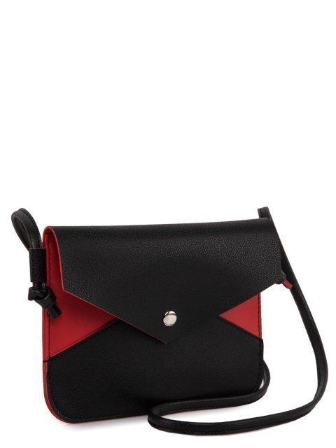 Чёрная сумка планшет S.Lavia (Славия) - артикул: 1132 89 01-04 - ракурс 1