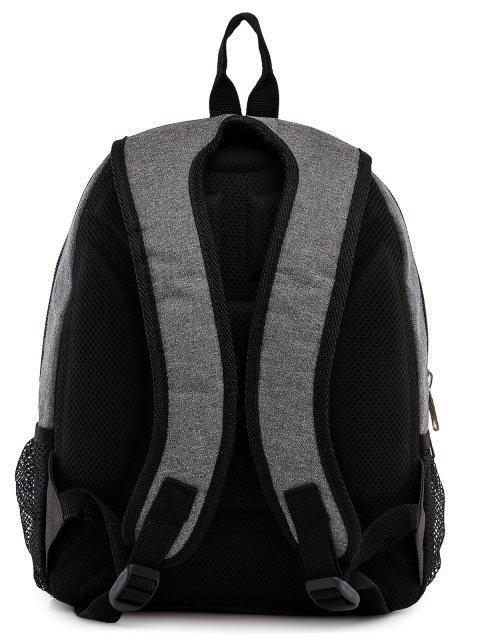 Серый рюкзак Lbags (Эльбэгс) - артикул: 0К-00029123 - ракурс 3