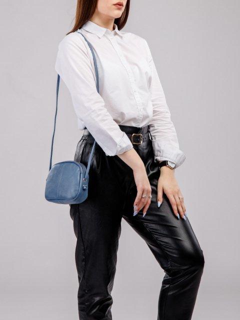Голубая сумка планшет S.Lavia (Славия) - артикул: 0072 12 73 - ракурс 5