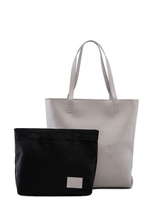 Серый шоппер Polina - 5499.00 руб