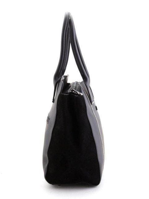 Чёрная сумка классическая Polina (Полина) - артикул: К0000023788 - ракурс 2