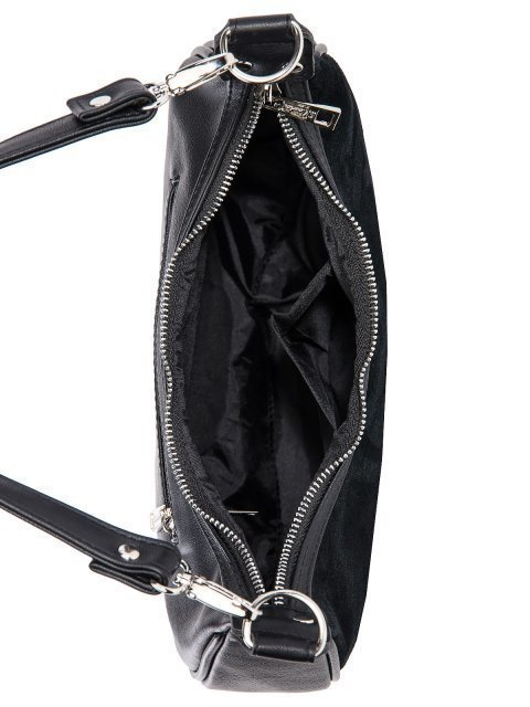 Чёрная сумка мешок S.Lavia (Славия) - артикул: 1237 99 01 - ракурс 4