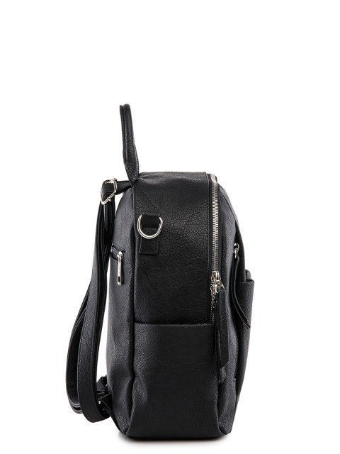 Чёрный рюкзак S.Lavia (Славия) - артикул: 1186 598 01.110 - ракурс 2
