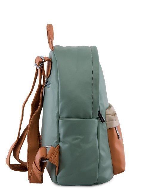 Мятный рюкзак Fabbiano (Фаббиано) - артикул: 0К-00023735 - ракурс 2