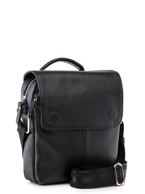 Чёрная сумка планшет S.Lavia (Славия) - артикул: 0053 10 01.83 - ракурс 1