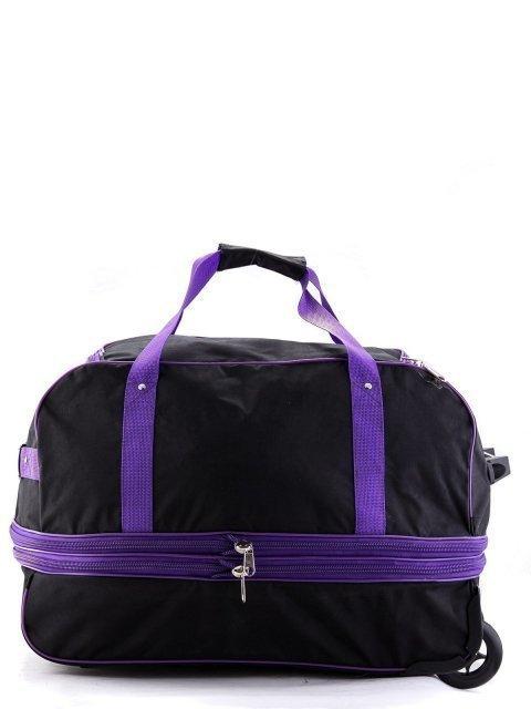 Чёрный чемодан Lbags (Эльбэгс) - артикул: К0000013247 - ракурс 3