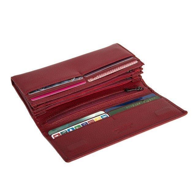 Красное портмоне S.Style (S.Style) - артикул: 0К-00019970 - ракурс 3