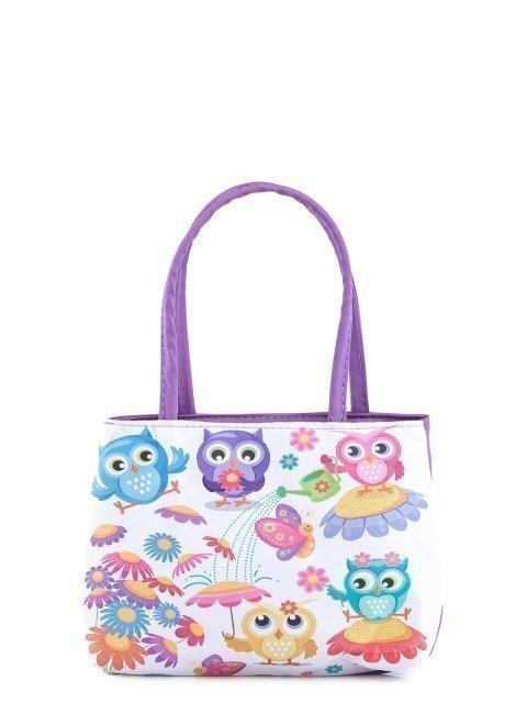 Сиреневая сумка классическая Angelo Bianco - 359.00 руб