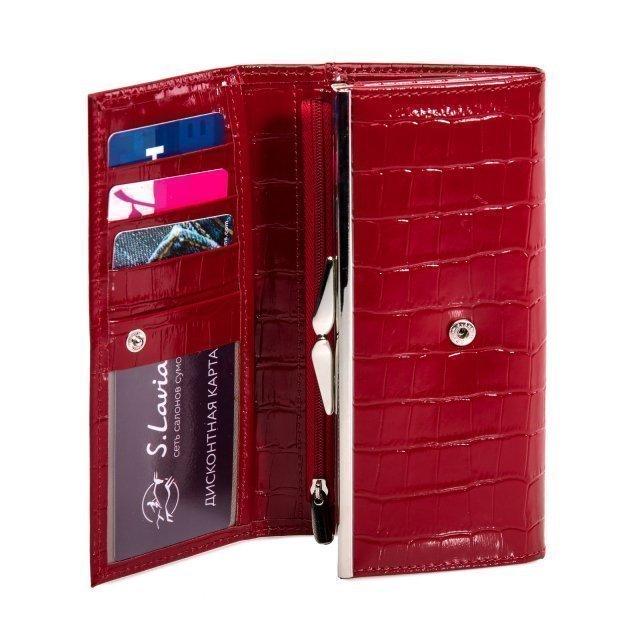Красное портмоне S.Lavia (Славия) - артикул: К0000016671 - ракурс 4