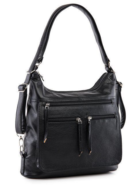Чёрная сумка мешок S.Lavia (Славия) - артикул: 962 601 01 - ракурс 1