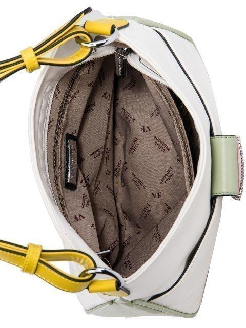 Белая сумка мешок Fabbiano (Фаббиано) - артикул: 0К-00026939 - ракурс 4