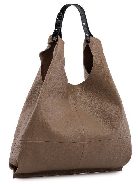 Бежевая сумка мешок S.Lavia (Славия) - артикул: 0091 12 25  - ракурс 1