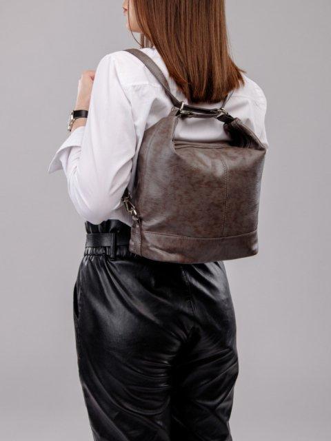 Чёрная сумка мешок S.Lavia (Славия) - артикул: 869 601 01 - ракурс 7
