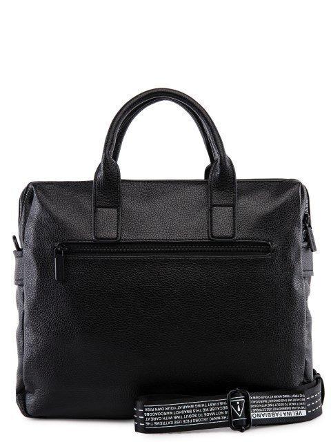 Чёрная сумка классическая Fabbiano (Фаббиано) - артикул: 0К-00023742 - ракурс 3