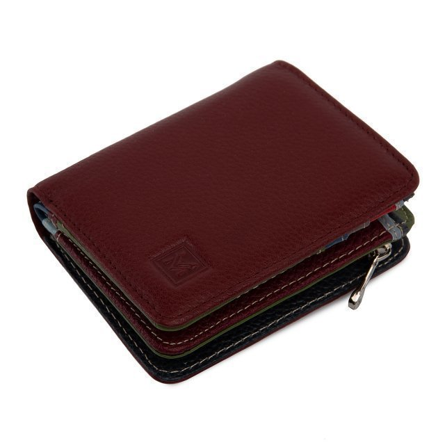 Бордовое портмоне S.Style - 2290.00 руб