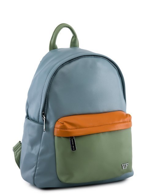 Голубой рюкзак Fabbiano (Фаббиано) - артикул: 0К-00023734 - ракурс 1
