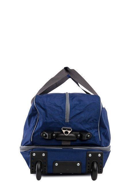 Синий чемодан Lbags (Эльбэгс) - артикул: 0К-00027778 - ракурс 2