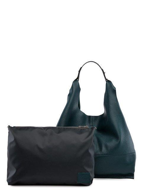 Бирюзовая сумка мешок S.Lavia (Славия) - артикул: 0091 12 75 - ракурс 4