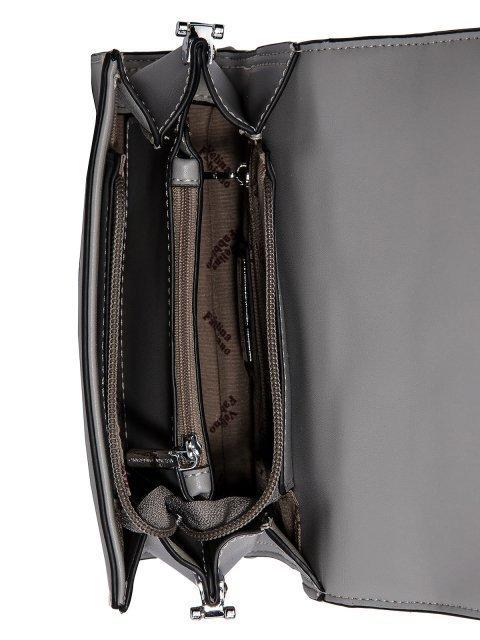 Серая сумка планшет Fabbiano (Фаббиано) - артикул: 0К-00023506 - ракурс 4