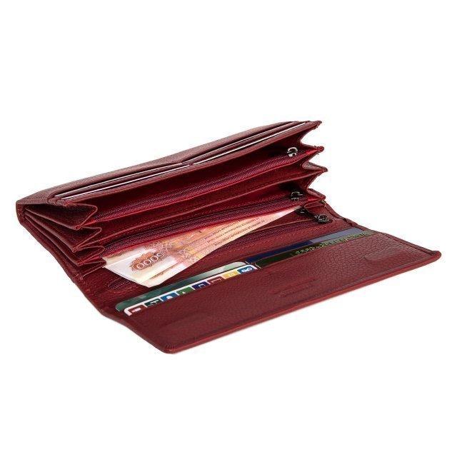 Красное портмоне S.Style (S.Style) - артикул: 0К-00019970 - ракурс 2