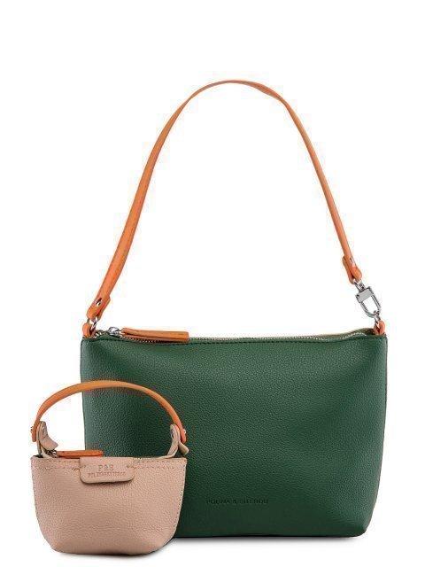 Зелёная сумка планшет Polina - 2299.00 руб
