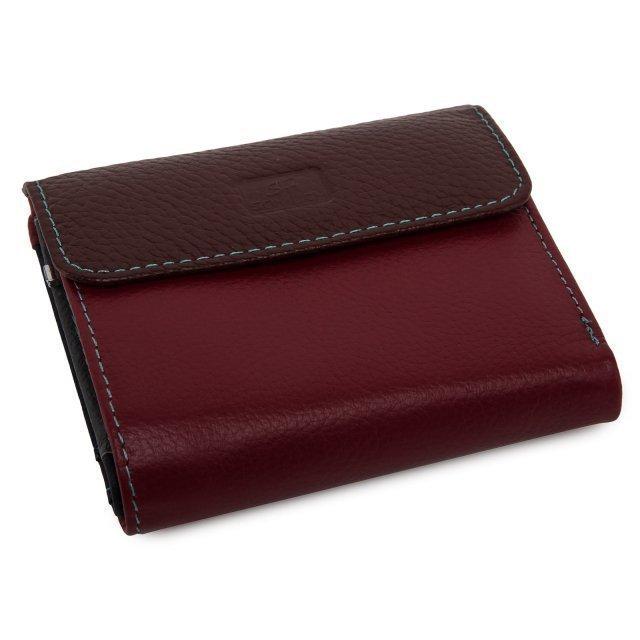 Бордовое портмоне Barez - 1499.00 руб