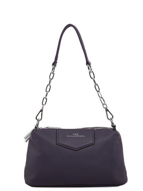Фиолетовая сумка планшет Polina - 3199.00 руб