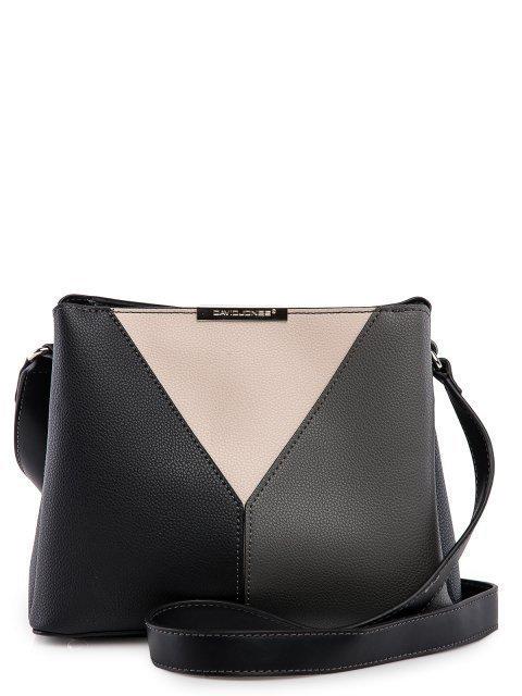 Чёрная сумка планшет David Jones - 2349.00 руб