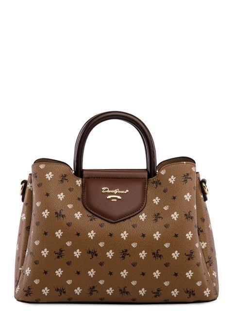 Бежевая сумка классическая David Jones - 2199.00 руб