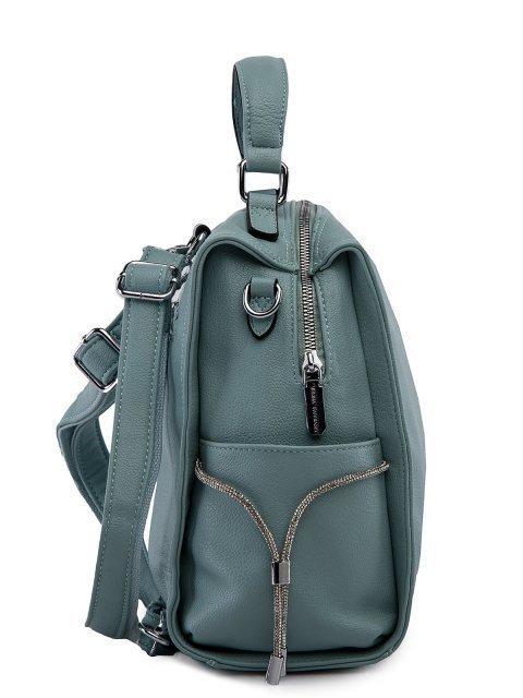 Мятный рюкзак Fabbiano (Фаббиано) - артикул: 0К-00023737 - ракурс 2