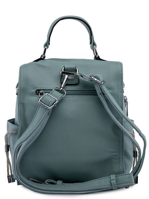 Мятный рюкзак Fabbiano (Фаббиано) - артикул: 0К-00023737 - ракурс 3