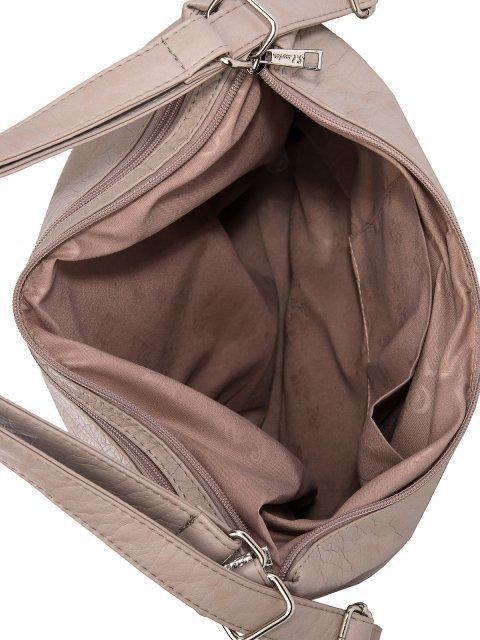 Бежевая сумка мешок S.Lavia (Славия) - артикул: 980 601 25 - ракурс 5