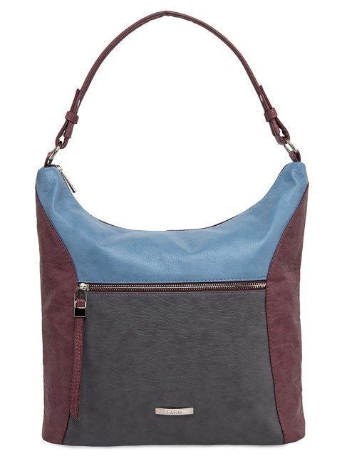 Бордовая сумка мешок S.Lavia - 1859.00 руб