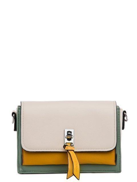 Бежевая сумка планшет Polina - 2299.00 руб
