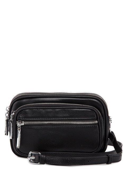 Чёрная сумка планшет Polina - 4678.00 руб