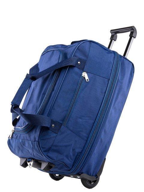 Синий чемодан Lbags (Эльбэгс) - артикул: К0000013233 - ракурс 4
