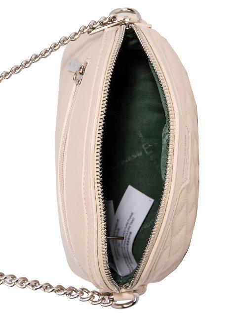 Бежевая сумка планшет David Jones (Дэвид Джонс) - артикул: 0К-00026279 - ракурс 4