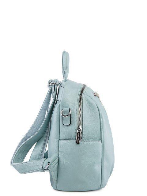 Мятный рюкзак Fabbiano (Фаббиано) - артикул: 0К-00025603 - ракурс 2