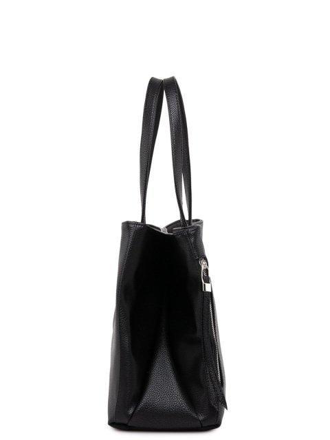 Чёрный шоппер S.Lavia (Славия) - артикул: 886 902 01 - ракурс 2