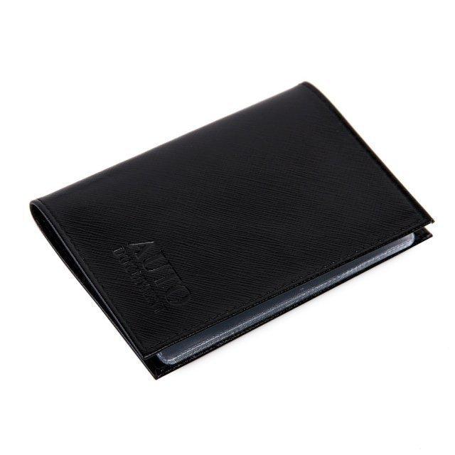 Чёрная обложка для документов Кайман - 399.00 руб